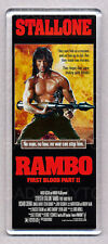 RAMBO FIRST BLOOD PART II (2) movie poster LARGE FRIDGE MAGNET - STALLONE!