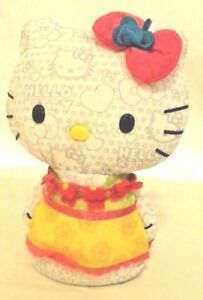 Hello-Kitty-Color-Me-Daisies-Soft-Doll-8-inches-washable-Sanrio-Co-Free-Shipping