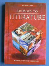 McDougal Littell Language of Literature: Bridges to Literature Vol. 2 (2001, Hardcover, Student Edition of Textbook)