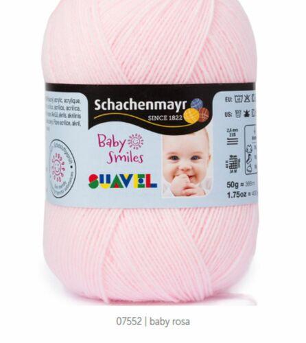 7,90€// 100g Bebé Smiles Suavel 50g Schachenmayr Alto Kuschelfaktor Todos Farben