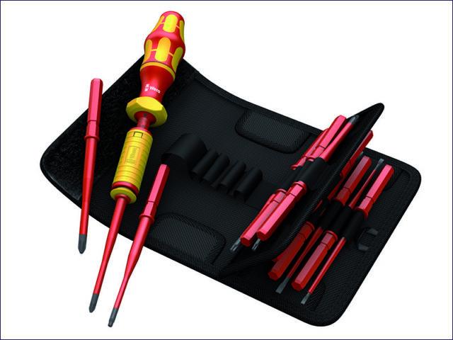 Wera WER059291 7441 VDE Adjustable Torque Screwdriver Set of 15 1.2-3Nm