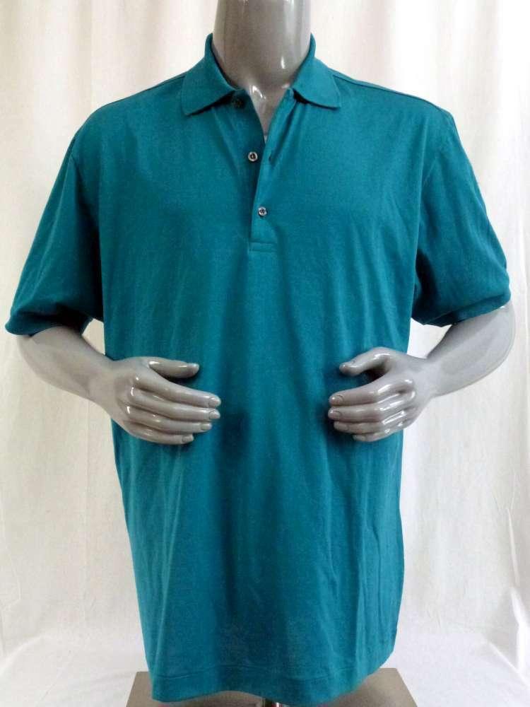 Filoscozia Polo-Shirt petrol Gr. M NEU