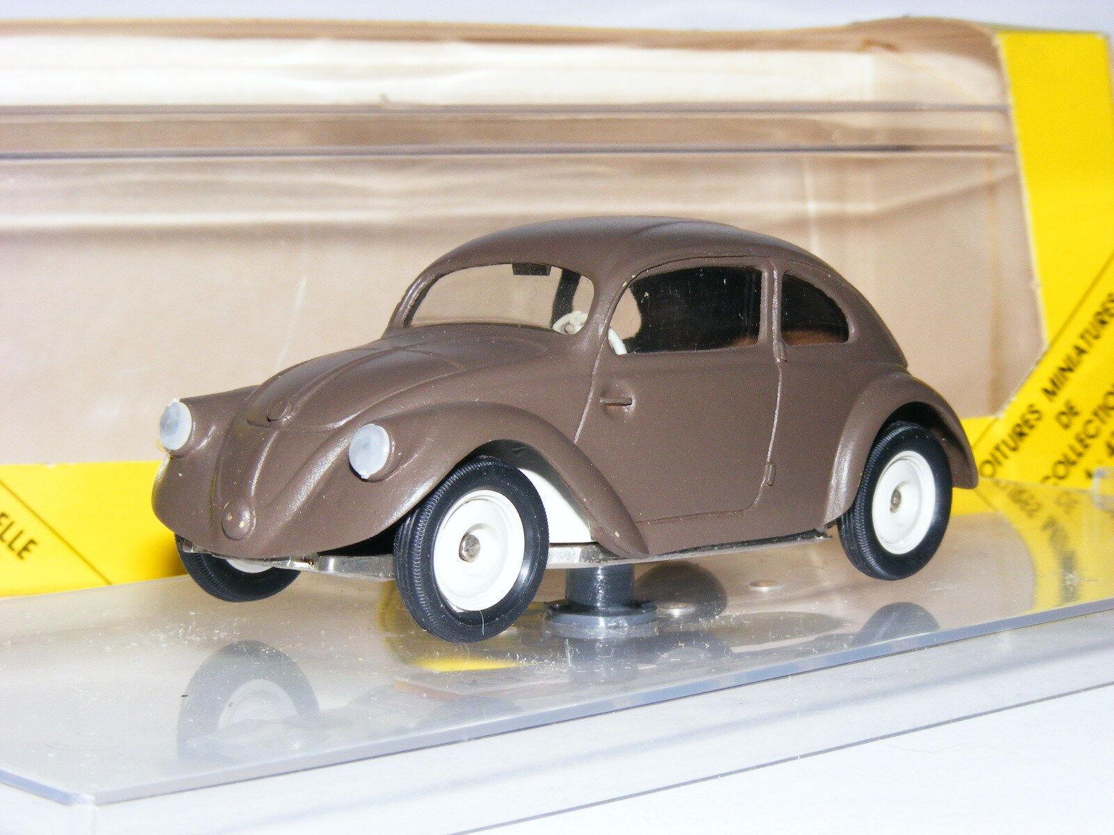 Kager Edition Vitesse 1937 Volkswagen Beetle V30 Predotype Matt Brown 1 43