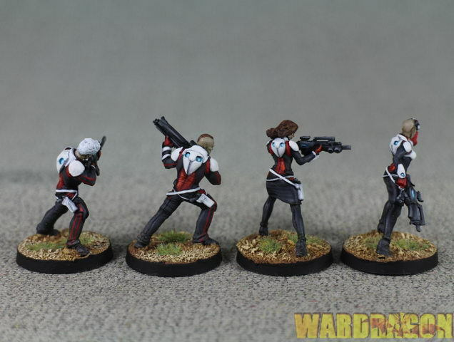 30mm Infinity Infinity Infinity WDS painted Nomads Moderators from Bakunin q77 3f69ef