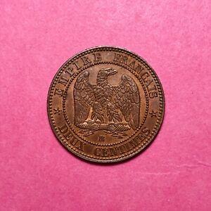 #181 - 2 Centimes 1862 Bb - Facture éLéGant En Odeur