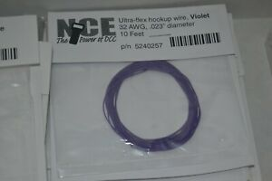 NCE Ultra-Flex 32AWG .023 Diameter 10' Hook Up Wire Violet 5240257 on dual relay module, dual timer relay, orion relay wiring, standard relay wiring, solid state relay wiring, bose relay wiring, double throw relay wiring, spdt relay wiring, siemens relay wiring, time delay relay wiring, safety relay wiring, dual fan relay, dual relay socket, electric relay wiring, ice cube relay wiring, bosch relay wiring,