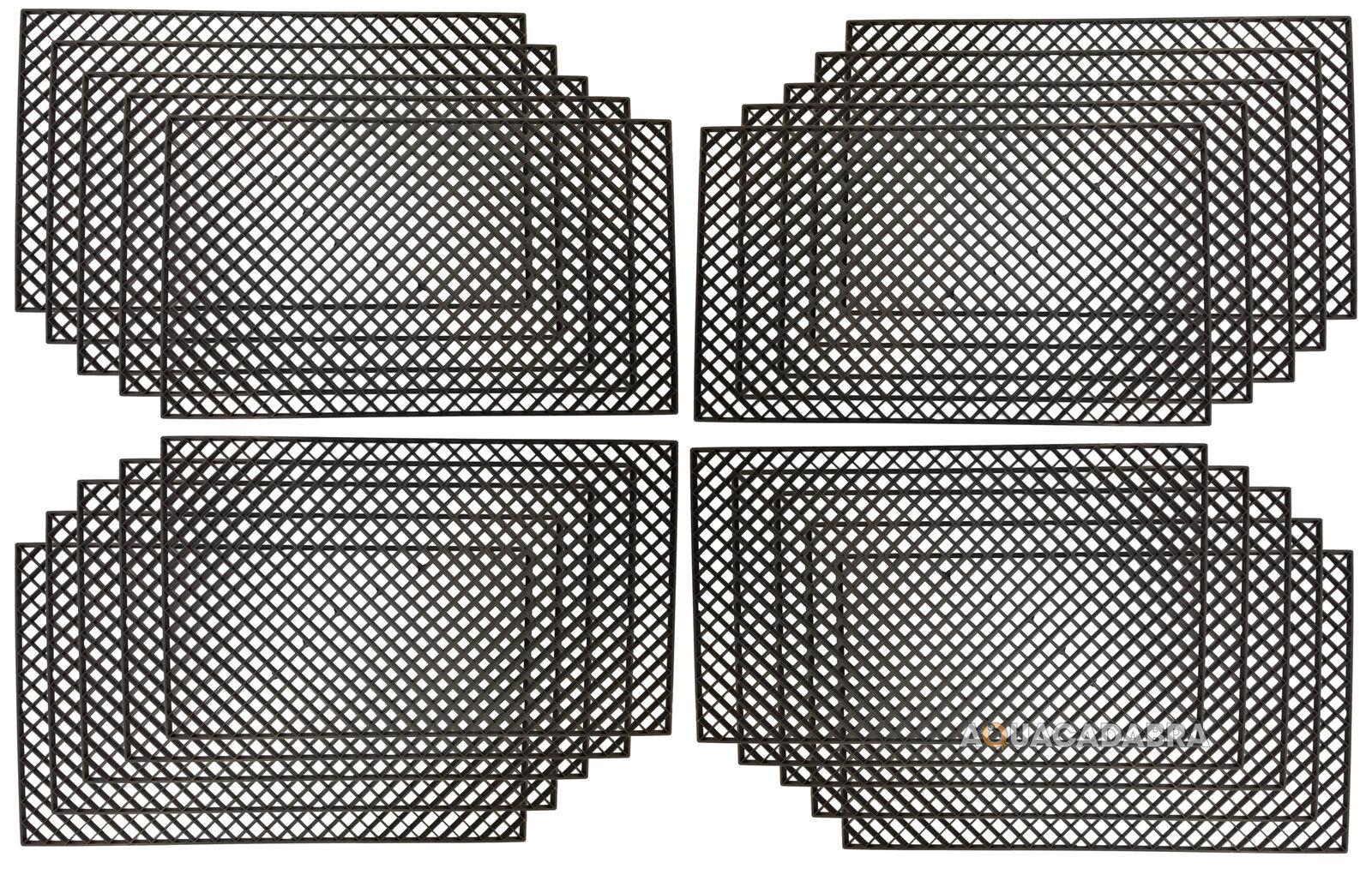 20 x Diamond Cut Filtro GRIGLIE Egg Crate PESCE CORALLO Acquario Marino Vasca stagno di Koi