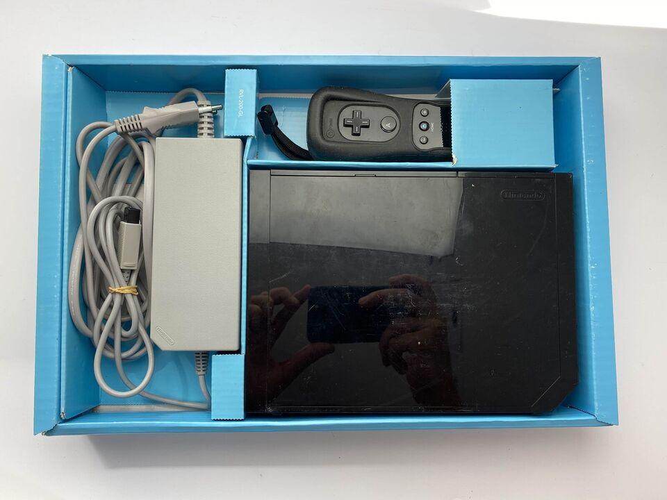 Nintendo Wii, Sort Wii i æske med alt indhold