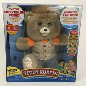 2017 Teddy Ruxpin Official Return of the Story time and Magical Bear NEW