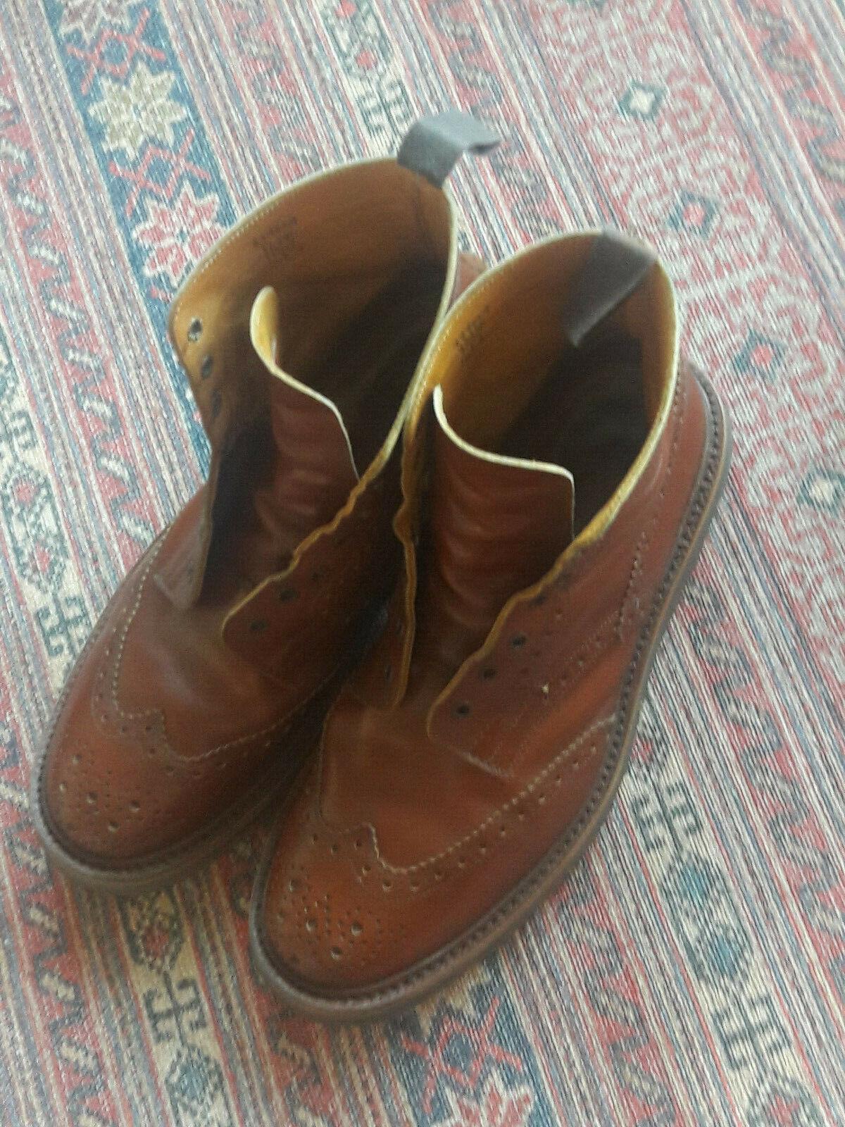 Tricker`s Stow Stiefel in  Maroon  Größe UK 10,5