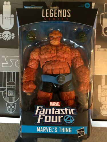 Mint The Thing 6 In Marvel Legends Super Skrull Series