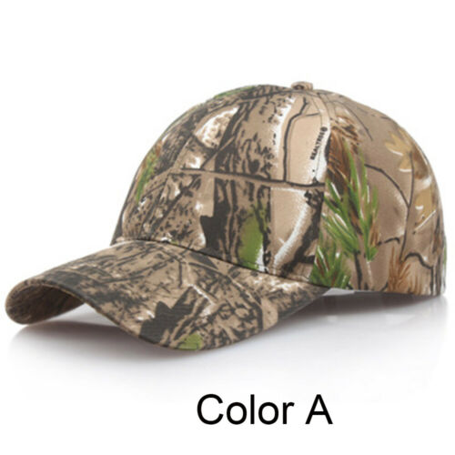 Fishing Hunting Camouflage  Men Baseball Cap Military Tactics Army Sun Hat Camo