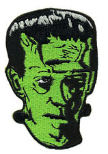 Frankie's SKULL Frankenstein's IRON ON 3 INCH   PATCH