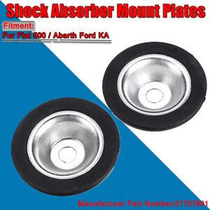 2PCS Top Shock Absorber Mount Plates For Fiat 500 Ford KA 51707691 ~
