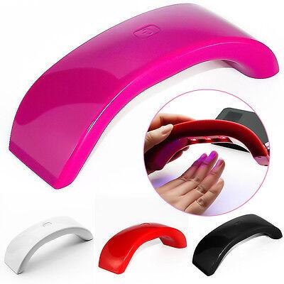 12W LED Lamp Nail Dryer Phone Shape Curing Mashine UV Gel Nail Polish Tools Set