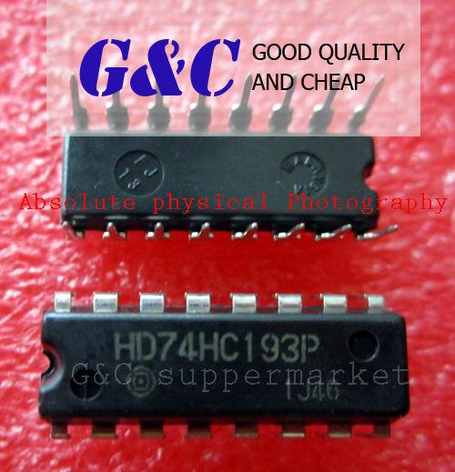5pcs  IC HD74HC193P 74HC193P 74HC193 DIP16 HITACHI   NEW GOOG QUALITY