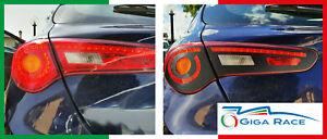 adesivi auto alfa romeo giulietta sticker decal stop freno carbon look vinile 3d