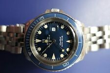 Tudor Divers, blue Mini Sub Mariner with original  Stainless strap, No Reserve