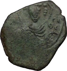 Manuel-I-Comnenus-1143AD-Ancient-Medieval-Byzantine-Coin-Saint-Georgei32617