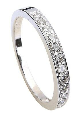 0.29 Ct Wedding Engagement Ring Band 14K 18K & White Gold Yellow and Rose Guard