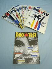 Öko Test Jahrgang 1989 Hefte Nr. 1 und 3 -12 insgesamt 11 Hefte