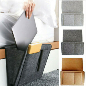 Sofa-Bedside-Storage-Caddy-Hanging-Bag-Felt-Pocket-Organizer-Book-Holder-Home