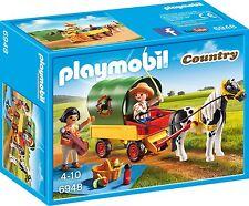 Playmobil 6948 Picnic with Pony Wagon Toy