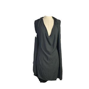 Taking Shape TS Womens Plus Size Sheer Rolled Neck Midi Dress Size 18