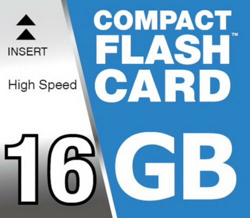 16GB CF High Speed 150x Compact Flash Speicherkarte für Canon 5D Mark III