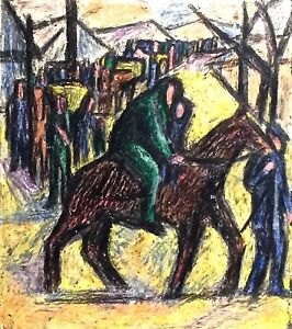 PINIAT 1925-2017 NEW YORK CITY MODERNIST  FIGURE LANDSCAPE PAINTING DRAWING