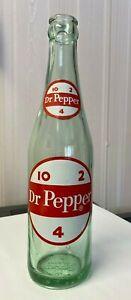 Vintage-Soda-Pop-Beverage-Bottle-Dr-Pepper-12-Oz-10-2-4