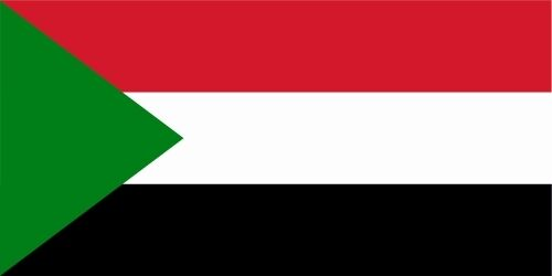 Sudan lfd0177 Car Sticker Flag Country
