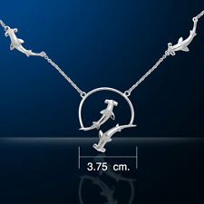 Hunter Jumper Horse .925 Sterling Silver Pendant by Peter Stone