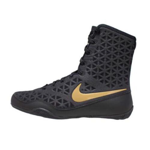 Nike KO Boxing Boots Black//Gold