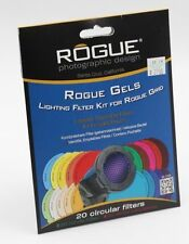 ROGUE GELS  20 CIRCULAR FILTERS  & LIGHTING FILTER KIT FOR ROGUE GRID  (041)