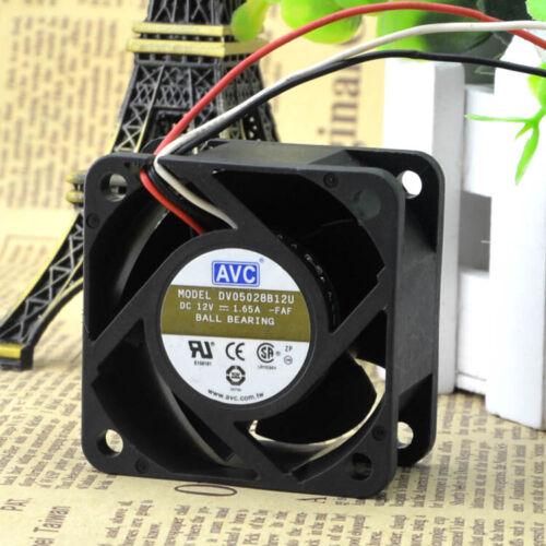 1PC For  fan AVC  12V 1.65A DV05028B12U #Z1