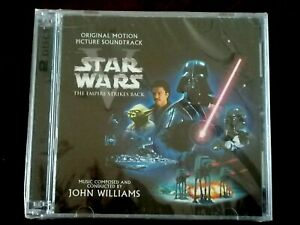 Star Wars Episode V Empire Strikes Back Soundtrack John Williams 2cd Sealed Ebay