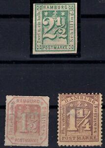 P135633-OLD-GERMANY-HAMBURG-MI-9-12-21-MNG-CV-205