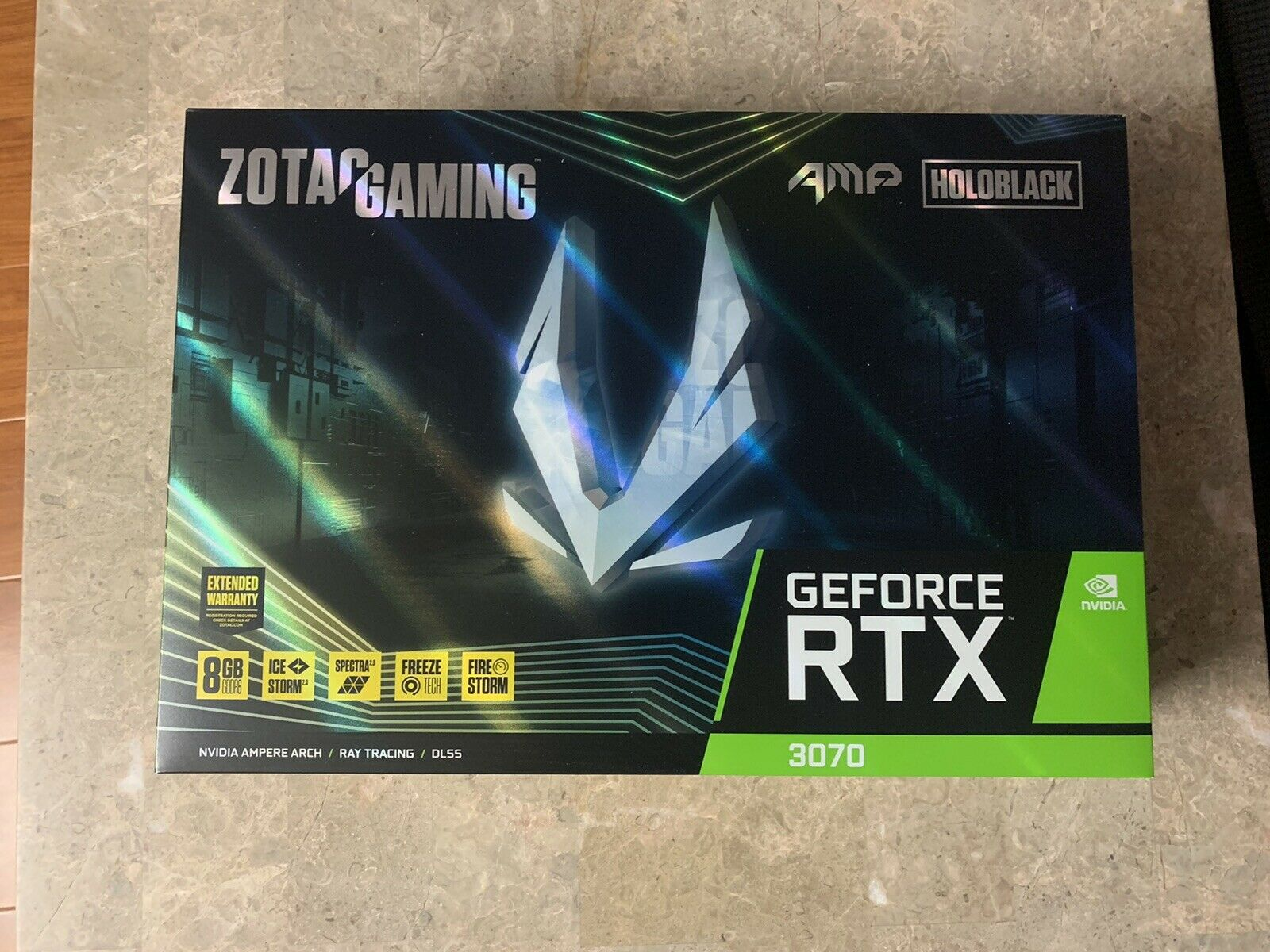 [NEW] ZOTAC GAMING GeForce RTX 3070 AMP HOLO 8GB GDDR6 Graphics Card