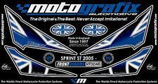 Triumph Sprint ST 1050 2005 - 2009 Motografix Front Number Board Gel Protector