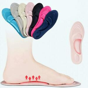 4D-Orthotic-Flat-Feet-Foot-High-Arch-Gel-Heel-Support-Shoe-Inserts-Insoles-Pads