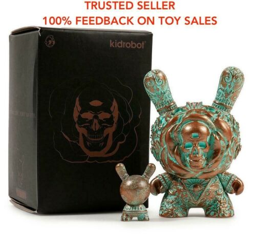 Kidrobot The Clairvoyant by J*RYU Dunny Patina Limited Edition