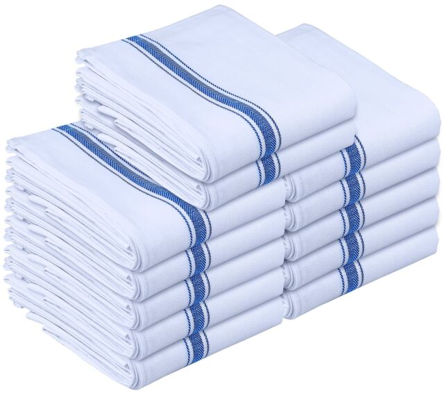Utopia Towels Kitchen Towels   Dish Cloth (12 Pack)   Machine Washable  Cotton