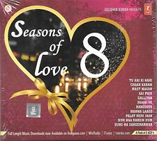 SEASONS OF LOVE 8 (ROY*PK*HAPPY NEW YEAR*NEW HATE STORY 2)NEW BOLLYWOOD 2CD SET