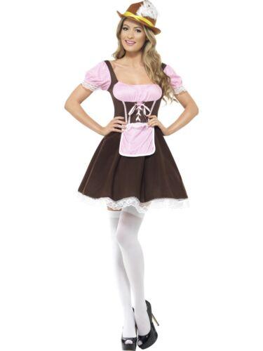 Oktoberfest Beer Tavern Wench Bavarian Ladies Fancy Dress Costume Geman New