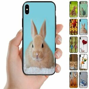 For Samsung Galaxy Note Series - Easter Bunny Print Mobile Phone Back Case Cover
