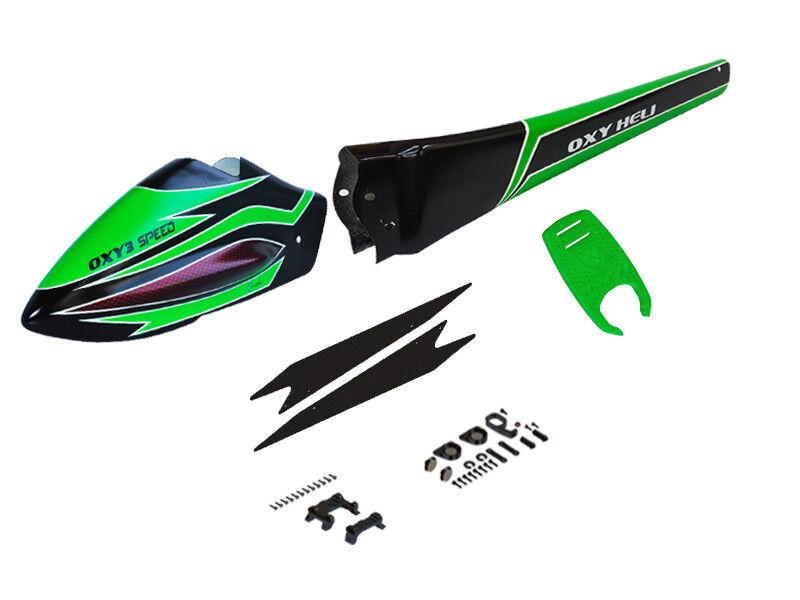 OXY3 Speed Fuselage - verde