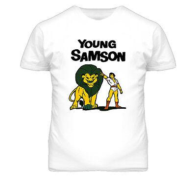 Young Samson And Goliath Cartoon Retro Tv T Shirt | eBay