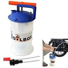 Ölabsaugpumpe portabel Handpumpe Vakuumpumpe Öl KFZ PKW und Motorrad Pumpe