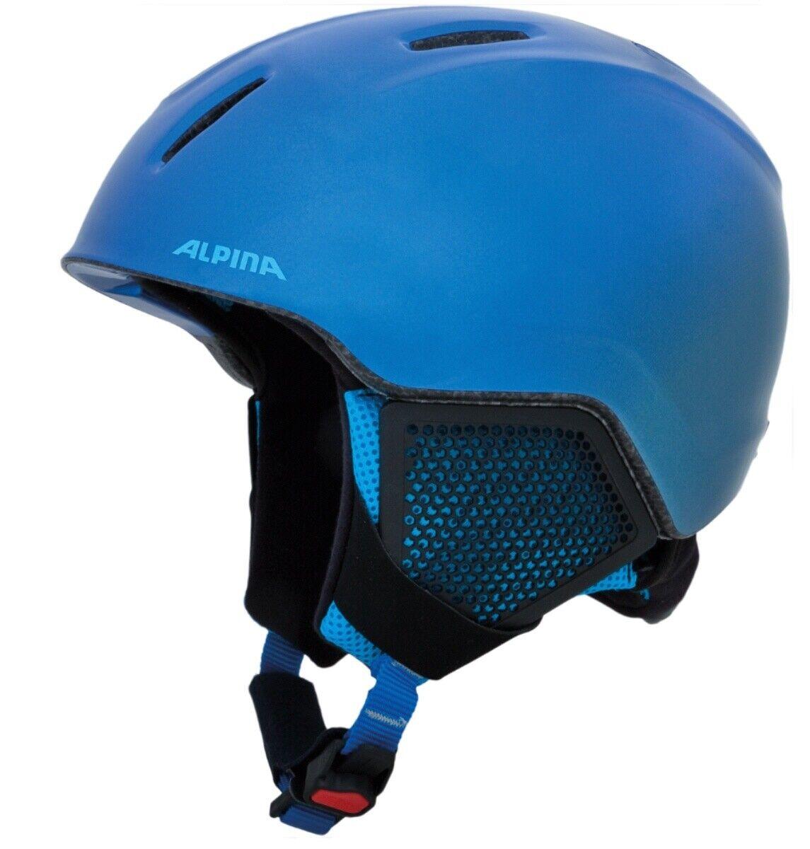 Alpina Carat LX Kids Ski Snowboard Helmet Blau